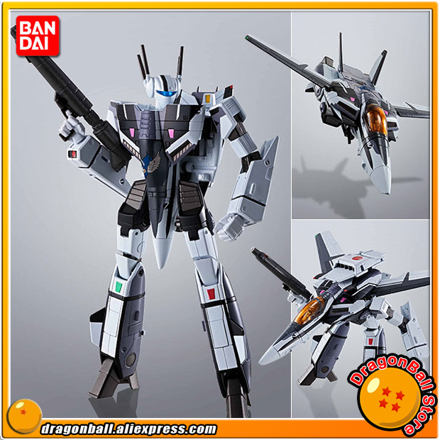 Macross D'origine BANDAI Tamashii Nations Unies HI-METAL R Action Figure-VF-1S Valkyrie Macross 35e Anniversaire Messer Couleur Ver.