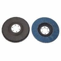 10pcs 115mm Premium Zirconia Flap Disc Sanding Grinding 4 1 2 7 8 60 Grit For
