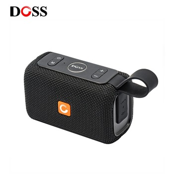 DOSS E 外出先屋外 IPX6 防水スピーカーミニ Bluetooth ポータブルワイヤレススピーカーシャワースピーカーサポート TF AUX usb iPhone