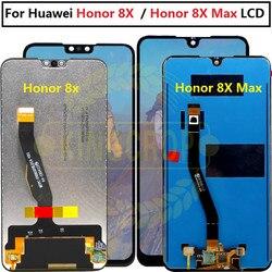 Huawei Honor 8X LCD écran tactile numériseur JSN L22 L21 pour HUAWEI Honor 8X MAX LCD Honor8X 8Xmax écran sont AL00 replacer
