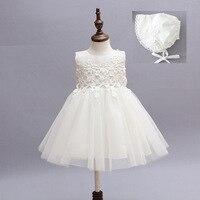 Lato niemowląt baby girl sukienki tutu ślub chrzest chrzciny suknie księżniczka urodziny dress mody dziecko dq256