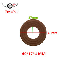 3 pcs/lot Speaker Spring Pads Elastic Wave Diameter 40 MM 17 Core Height 4 Horn Repair Spider Damper Parts