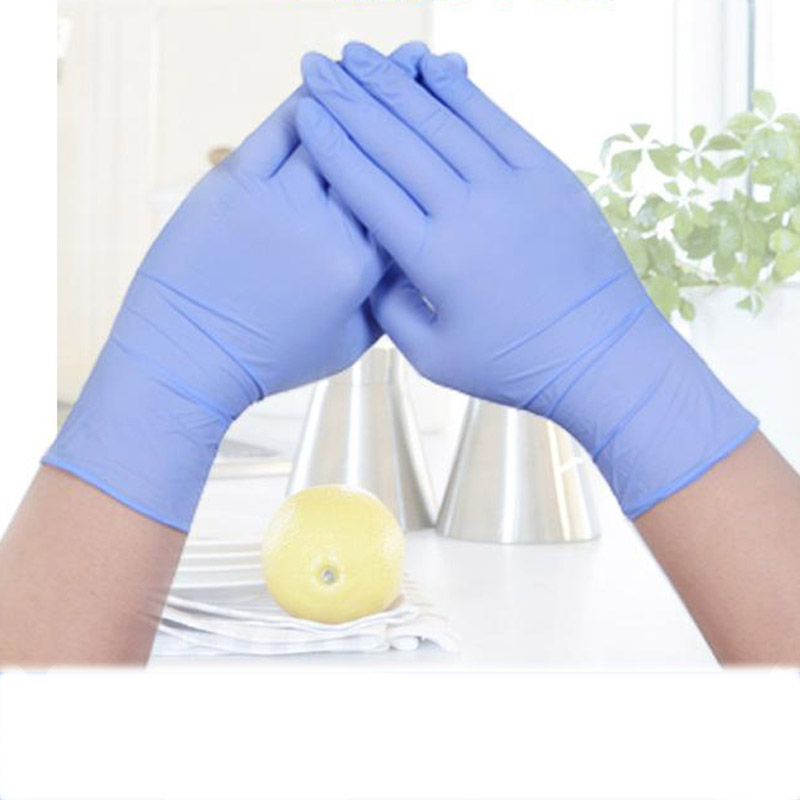 100/25pcs Disposable Latex Gloves Universal Cleaning Work Finger Gloves Latex Protective Medical Home Food for Safety PurpleST05100/25pcs Disposable Latex Gloves Universal Cleaning Work Finger Gloves Latex Protective Medical Home Food for Safety PurpleST05