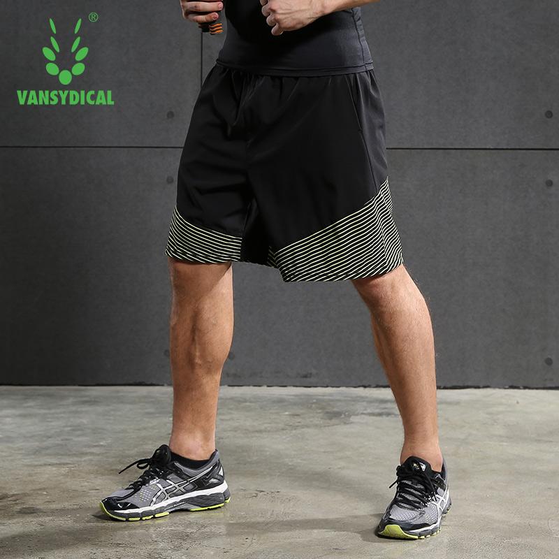 Mens Active shorts quick dry Running Shorts Training Crossfit Fitness Run Sports Shorts