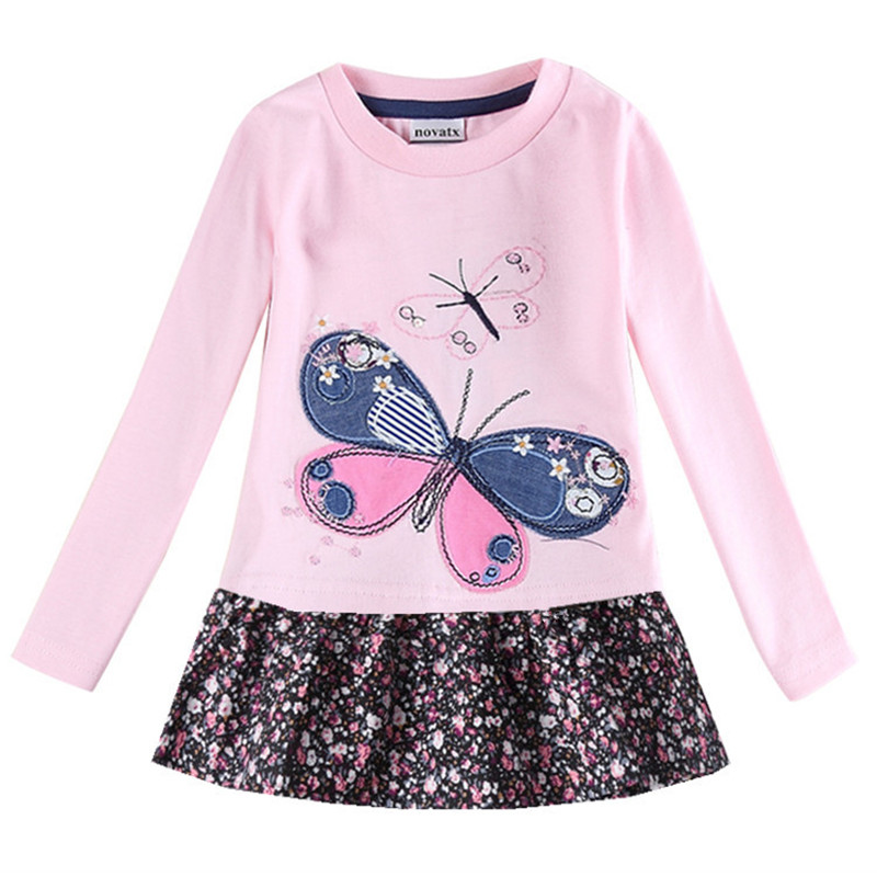 baby girl dress novatx children clothes baby kids wear long sleeve dress kids dress girls spring clothing