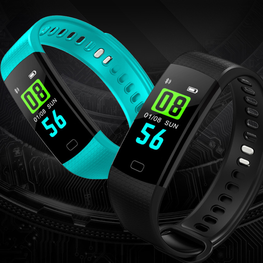 GIMTO Smart Bracelet Heart Rate Monitor Smart LED Digital Wristband Blood Pressure Pedometer Clock For Iphone Android IOS gimto sport smart bracelet watch outdoor clock waterproof stopwatch heart rate monitor blood pressure pedometer for ios android