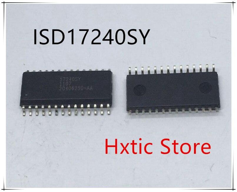 Nowy 10 sztuk/partia ISD17240SY ISD17240 SOP 28 IC w Akcesoria do baterii i ładowarek od Elektronika użytkowa na  Grupa 1