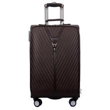 2016 New suitcase large capacity men PU leathe Computer Students luggage Caster Trolley bag Smith lever