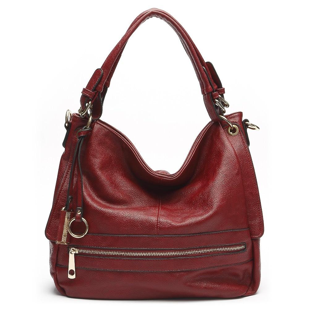 Leather Handbags Luxury Women Messenger Bags Bolsa Feminina Women's Shoulder Bag