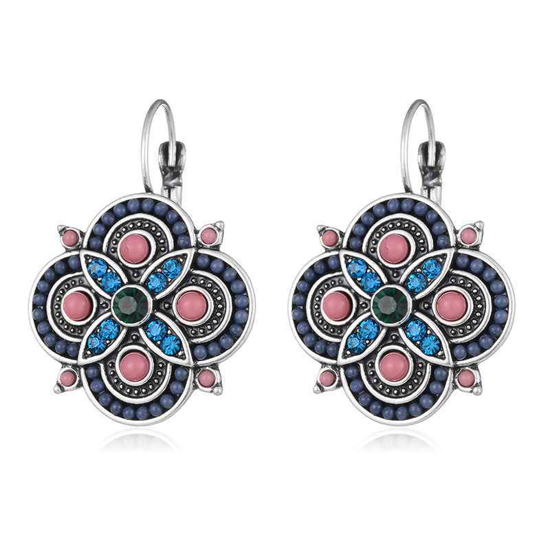 Bohemia Earrings for women Fashion Jewelry Women Accessories 2018 Clip Earrings Female Multiple Colors Brincos 2018