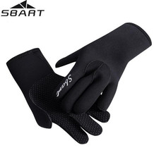 SBART 3MM Neoprene Swimming Diving Scuba Snorkeling Surfing Spearfishing Water Sport Gloves Winter Warm