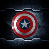Captain America Shield 1:1 Metal Superhero Cosplay Prop Avenger Cool Full Shield Halloween Party Hero Cosplay Super Weapon
