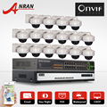 6TB HDD 24CH POE Switch Onvif 16CH H.264 NVR Security CCTV System 1080P 2.0MP HD Outdoor Vandalproof IR IP Network POE Camera