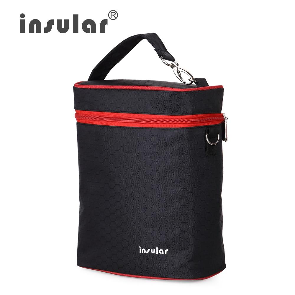 Insular 420D Nylon Baby Feeding Bottle Isolasjon Vesker Termisk - Baby mating - Bilde 1
