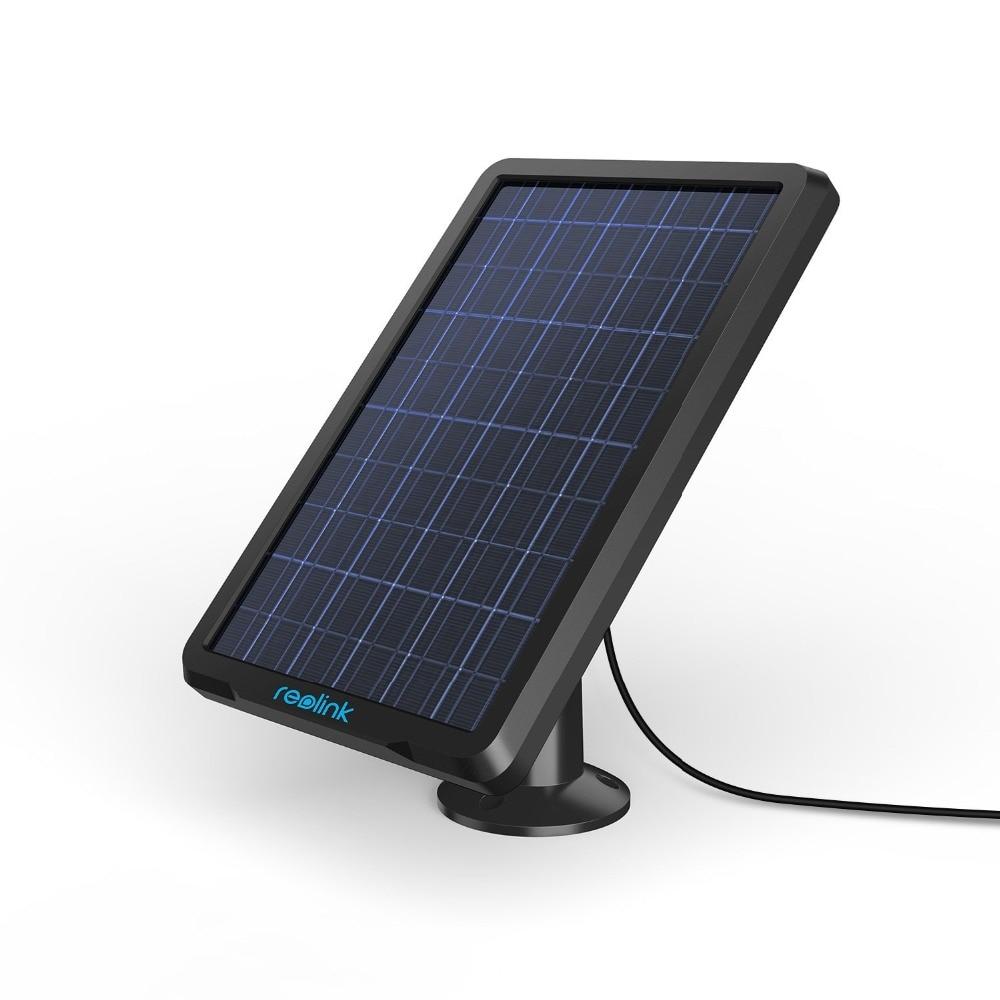 Reolink Panneau Solaire pour Reolink Argus 2 Rechargeable Batterie Alimenté IP Caméra de Sécurité