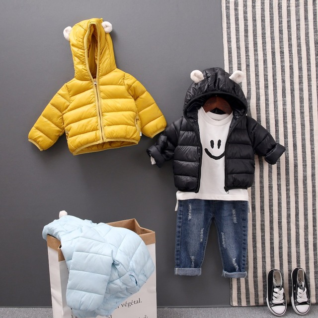 Baby Coat 2019 Autumn Winter Jacket For Baby Girls Boys Jacket Kids Warm Hooded Outerwear Coat For Infant Jacket Newborn Clothes
