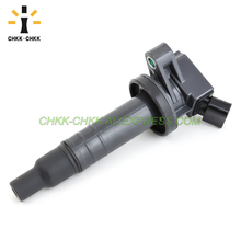CHKK-CHKK NEW Car Accessory OEM 90919-02239 Ignition Coil for Toyota Corolla Celica for Chevy Prizm Pontiac Vibe 1.8L UF247 цена