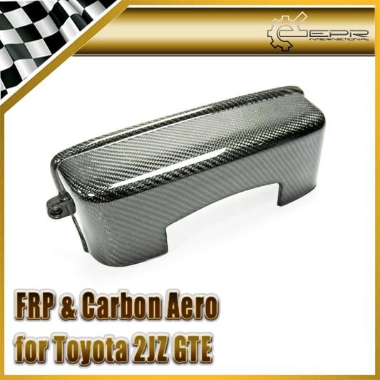 Автомобиль-стайлинг для Тойота Супра МК4 2JZGTE 2JZ углеродного волокна крышки приводного ремня газораспределительного приспособления JZX81 JZX91 (не подходит двигатель 2JZ VVTi)