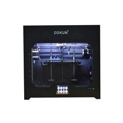 Maszyna drukarska 2 kolor edukacyjne Impresora o wysokiej precyzji ze stopu aluminium ze stopu aluminium płyta grzejna żarnik Pla Autolevel 3D drukarki Hotbed w Drukarki 3D od Komputer i biuro na