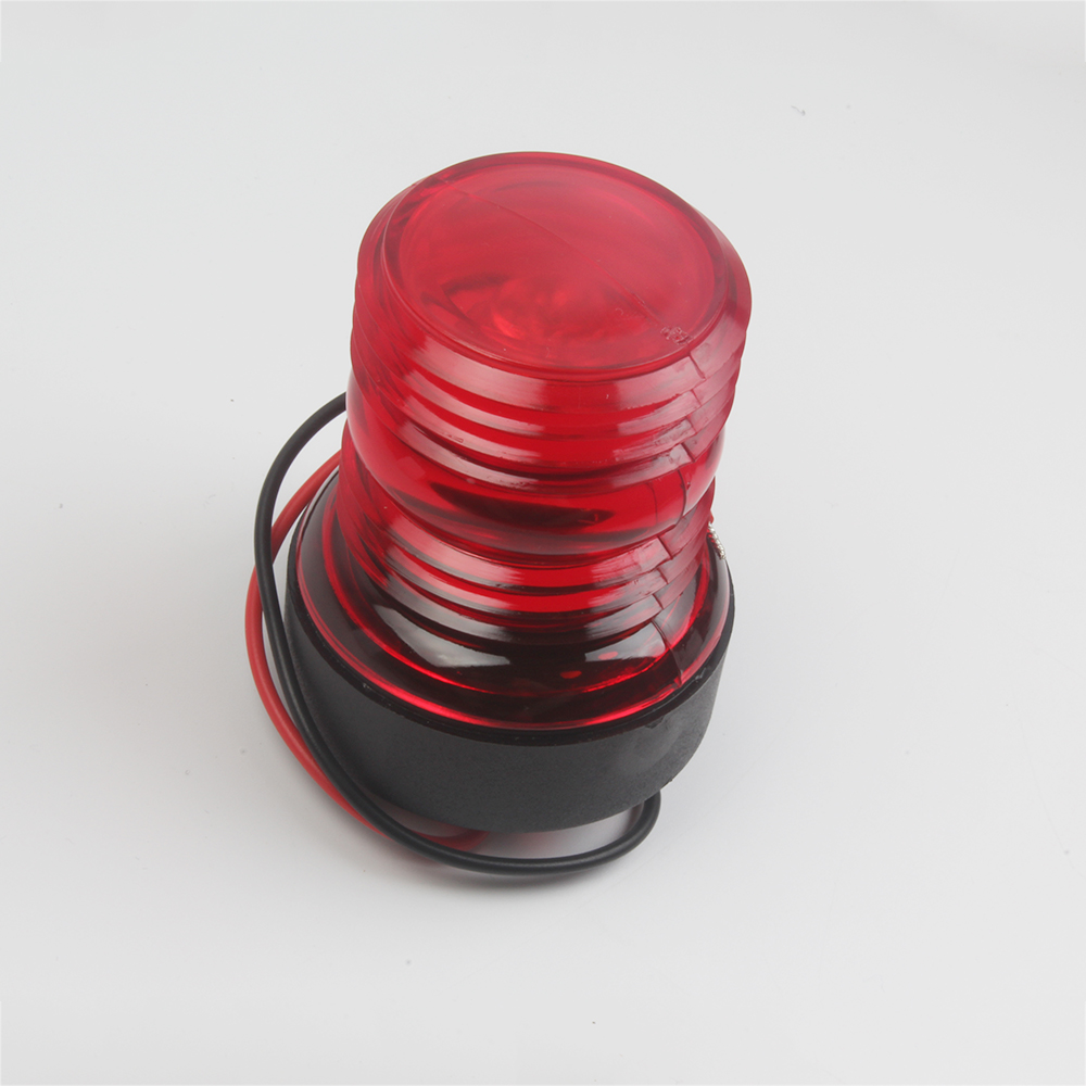 LED Navigation Anchor Lamp Marine Boat Yacht Light All Round 360 Degree 12V Red Green White-in Marine Hardware from Automobiles & Motorcycles