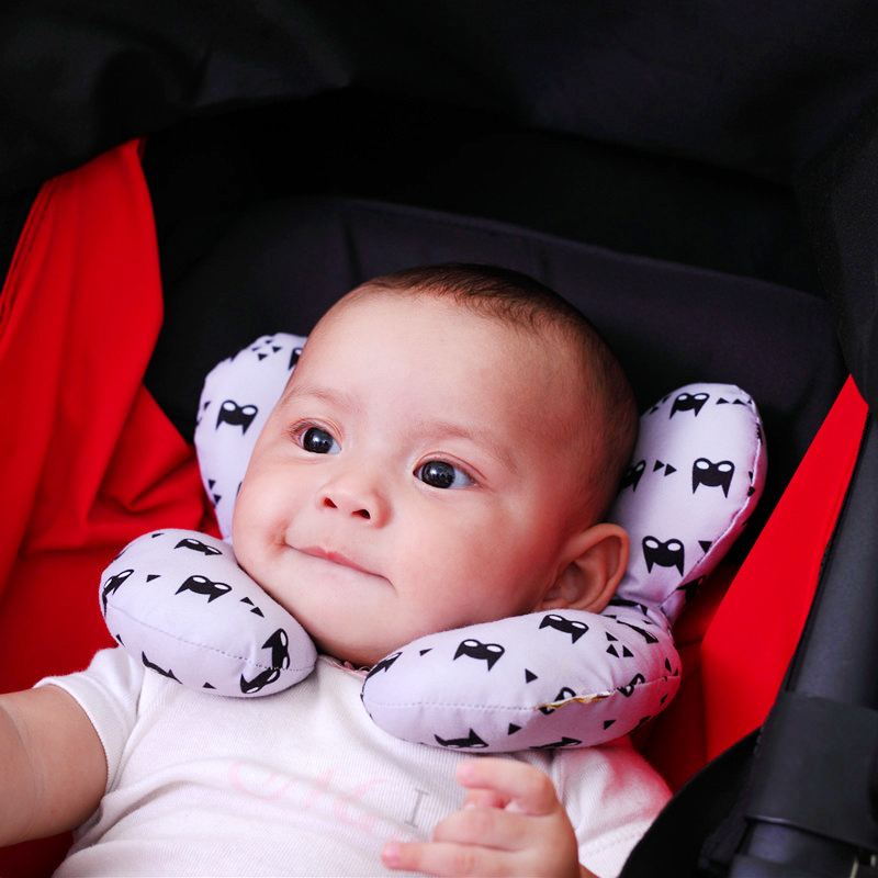Safety Baby Head Protection Stereotype U-Shaped Pillow Cervical Pillow Safety Seat Pillow Anti-head Baby Pillow Newborn