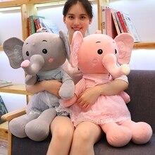 Hot lovely New 1pc 45cm-80cm Love Garden Princess Elephant Doll Cute Color Small Elephant Plush Toy Cushion Doll Birthday Gift все цены