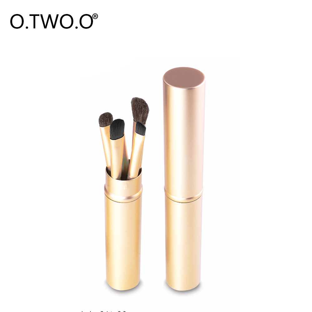 O.TWO.O Blush Brush 5 Pcs Make Up Brushes Tools Kit Beauty Tools With Wool Fiber Foundation Eyeshadow Lip Cosmetic Kit