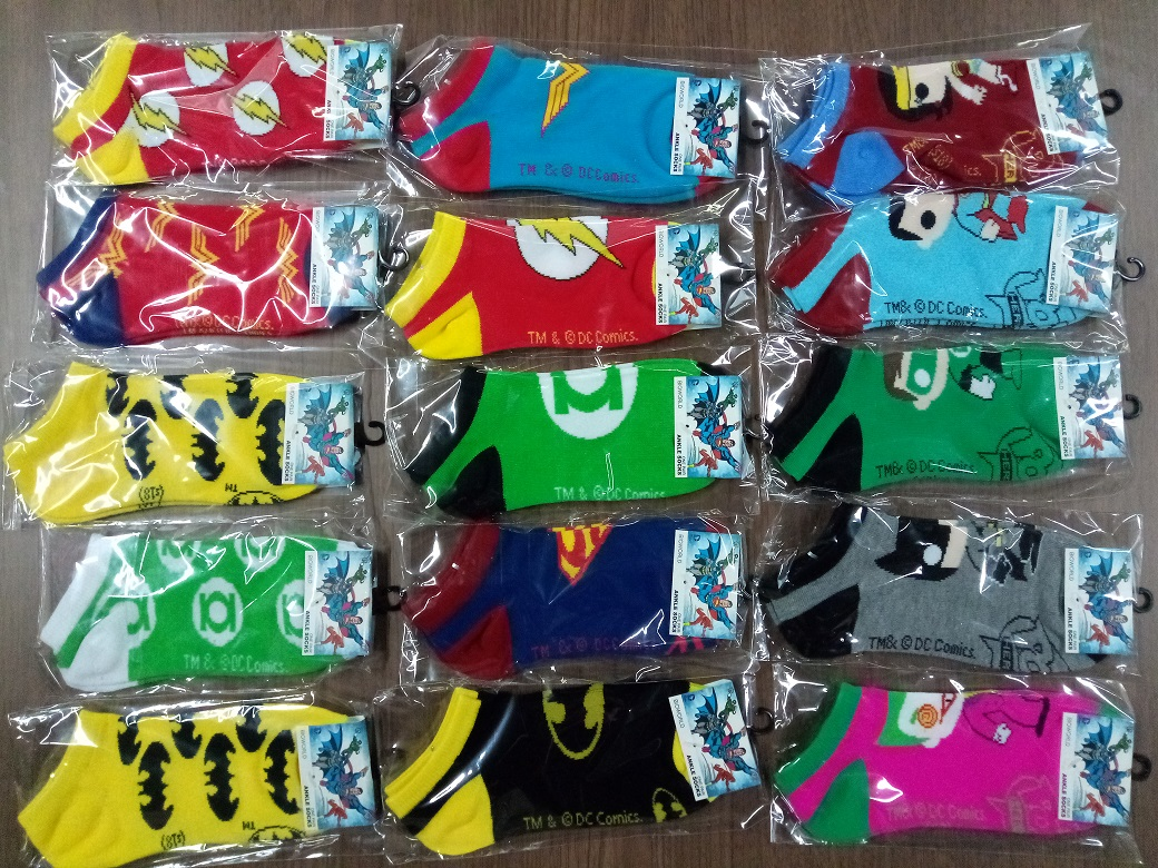 2018 New Fashion Superhero Unisex Socks Cotton Woman Man Cartoon Socks Gifts  Jacquard Cartoon Prototype Men's Socks