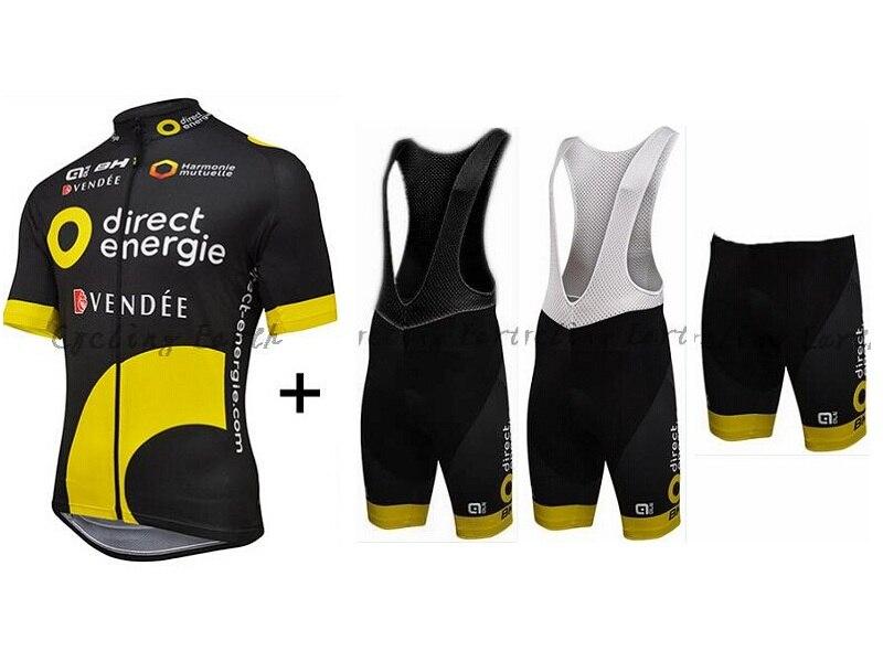 Diretta energie BH ALE 2016 Maniche Corte Ciclismo Jersey e Bib Shorts Set Vestiti Della Bicicletta XS-5XL