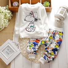 New Spring Baby Clothing Sets Children Boys Girls Kids Suits Tracksuits Cotton L