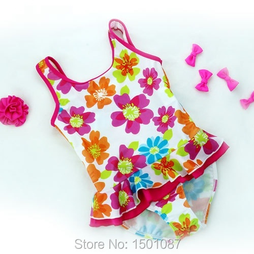Girls Baby Bikinis Set Beachwear Lovely Swimsuit One-pieces High Quality Kids Children Biquini Infantil Swimwear Bathing Suit