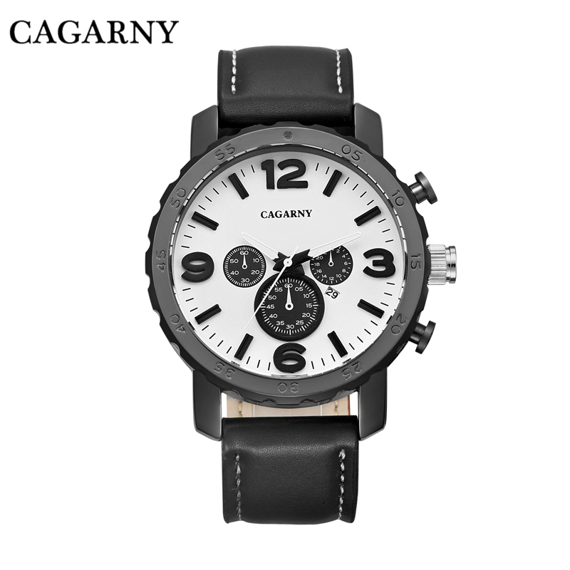 Buy casual quartz watch men watches japan movt leather watchband military clock for Celebrity quartz watch japan movt