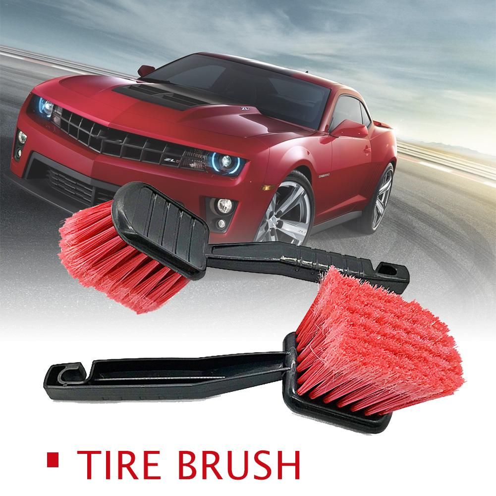 Universal 2019 Car Wheel Engine Brush Tire Rim Cleaner Soft Bristle Rim Detailing Brush Cleaning Carpet Brush