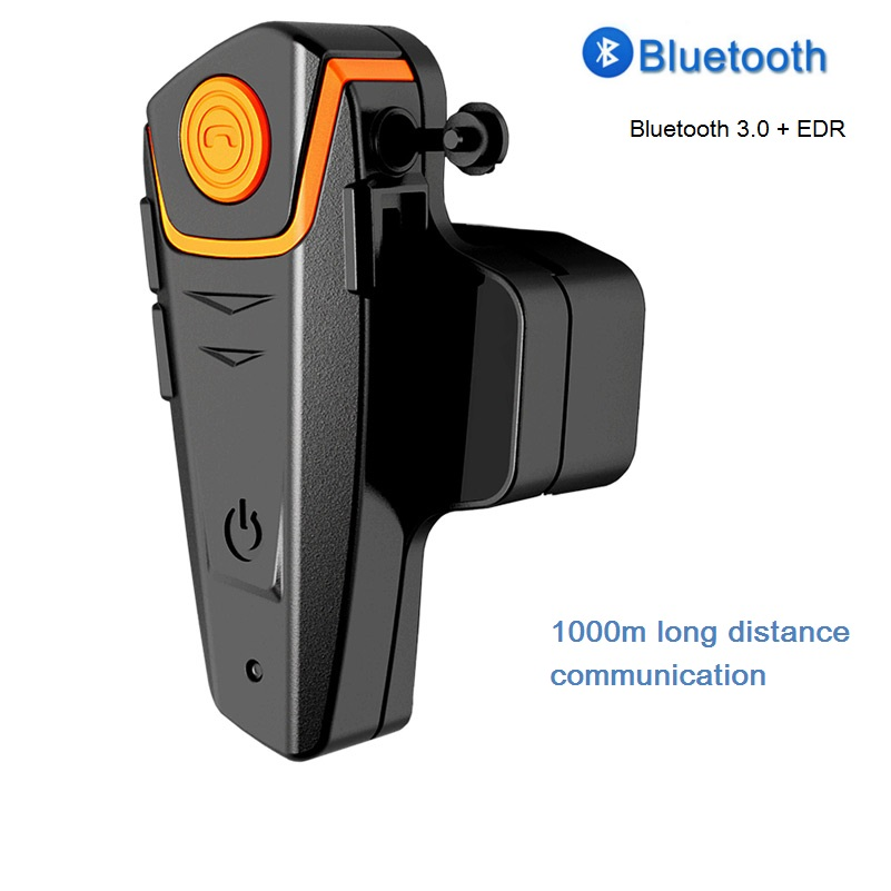 BT-S2 Bluetooth Headset 1000m Motorcycle helmet Intercom Waterproof Hands-free Calling with FM EU Plug free shipping original fdc fm 1000m motorcycle bluetooth headset intercom w lcd