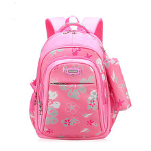 New Children Schoolbags for Girls Primary School Book Bag Sac Enfant Children School Bags Printing Backpack Orthopedic Backpack forudesigns 3d prints purple lilac 3d flower school bags for girls children school orthopedic backpack bookbag sac a dos enfant
