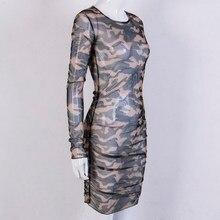 3469a4bd1 Camouflage Bodycon Party Dress de alta calidad - Compra lotes ...