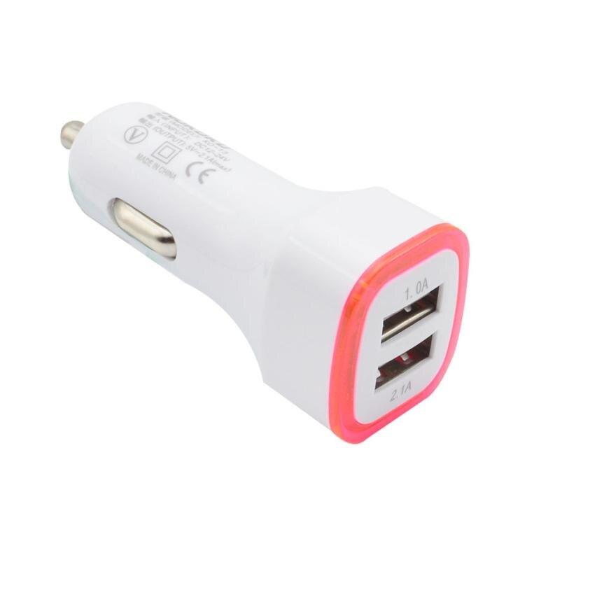 Зарядное устройство автомобиль универсальный 3.1a светодиодный USB двойной 2 Порты и разъёмы Разъем Адаптера автомобиля Зарядное устройство д...