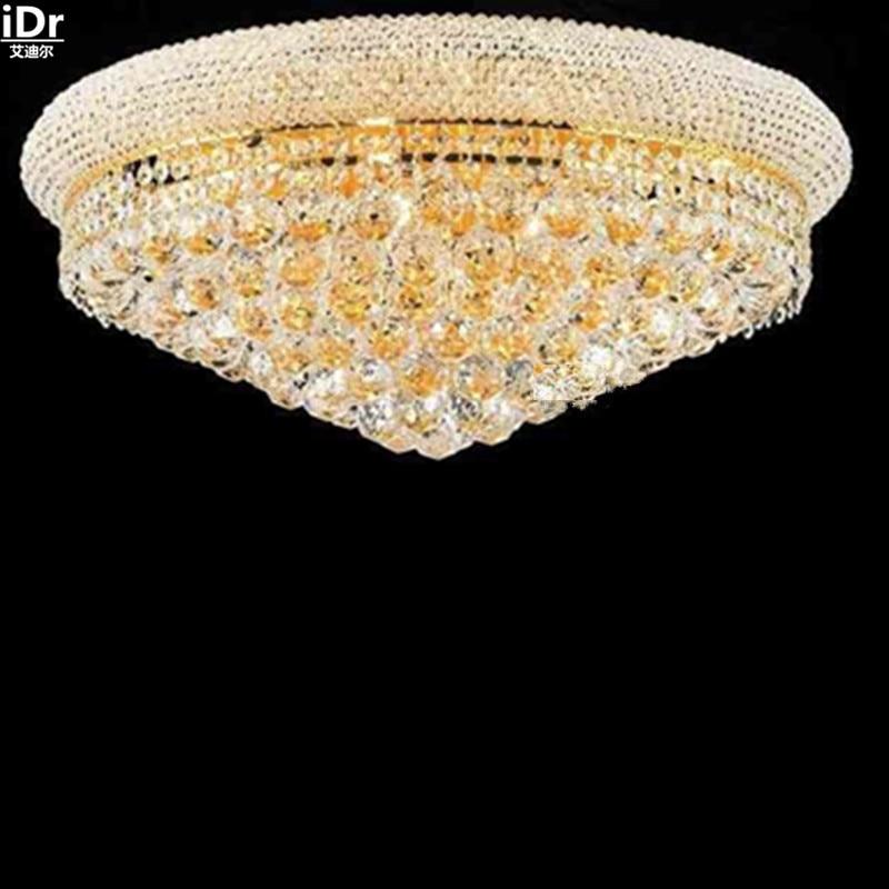 Gold Deckenleuchte Schlafzimmer Moderne Wohnzimmer Lampen Kristall Europischen Design Lampe 60 Cm W X 30