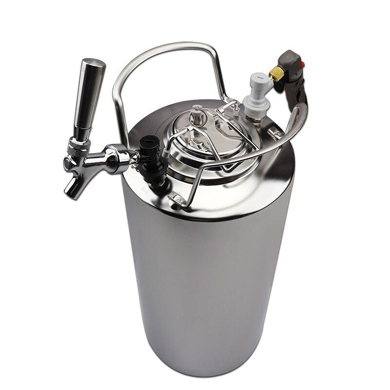 torneiras & kit carregador barril co2, grande capacidade barris corny