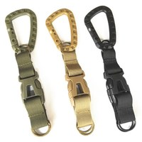 outdoor multi-functional combination of three-ring hook buckle climbing sports bag accessories tactical pockets backpack hook
