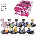 Anime Cartoon Code Geass Lelouch CC Nunnally Mini Acción PVC Figura de Colección Modelo de Juguete de Regalo 5-6 CM 9 unids/set KT431