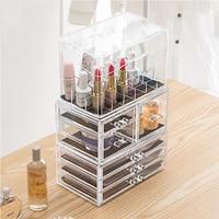 Makeup Organizer Storage Box Acrylic Make Up Organizer Cosmetic Organizer Makeup Storage Drawers Organizer