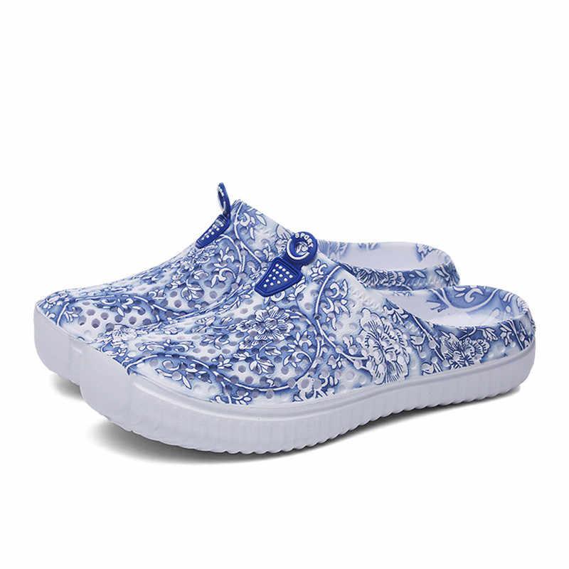 5b5646278671 ... 2019 SAGACE Ladies Women Beach Sandals Casual Hollow Out Shoes Flip  Flops Shoes Slippers Sandalia Feminina ...