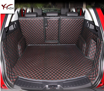 Good mat! Special trunk mats for Land Rover Discovery Sport 5seats 2016-2014 Easy to clean waterproof boot carpets,Free shipping