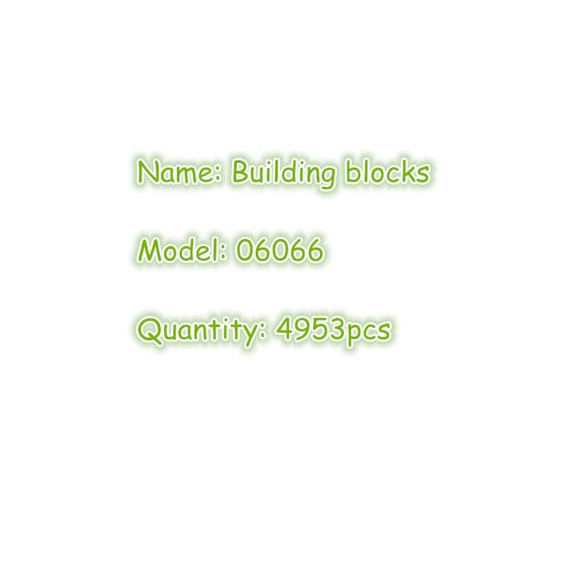 06066 4953 pcs Ninja Maîtres de Spinjitzu Ville 06022 ninja Temple de Airjitzu ninja ville Construction Blocs Briques Jouets