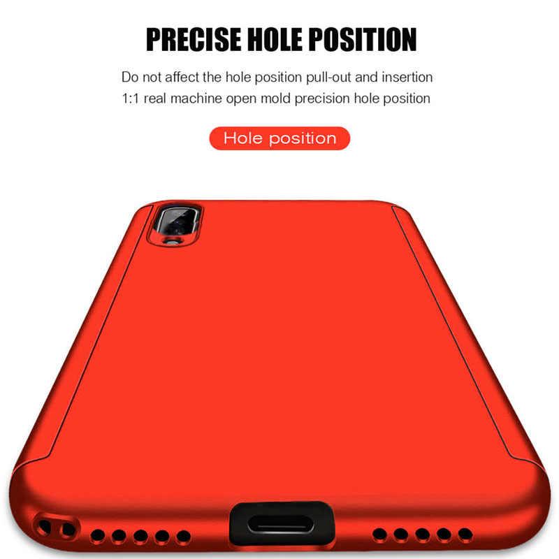 Роскошный 360 чехол для телефона с полным покрытием для Red mi Note 7 5 6 K20 Pro Red mi 7 6A противоударный чехол для Xiaomi mi 9 8 SE A2 Lite со стеклом