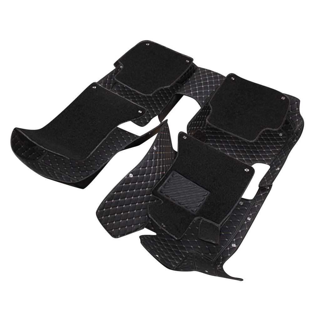 Q7 rubber floor mats - Topmats Double Layer Floor Mats For Audi Q7 2016 2017 Leather 3d Floor Mats Suv Mats