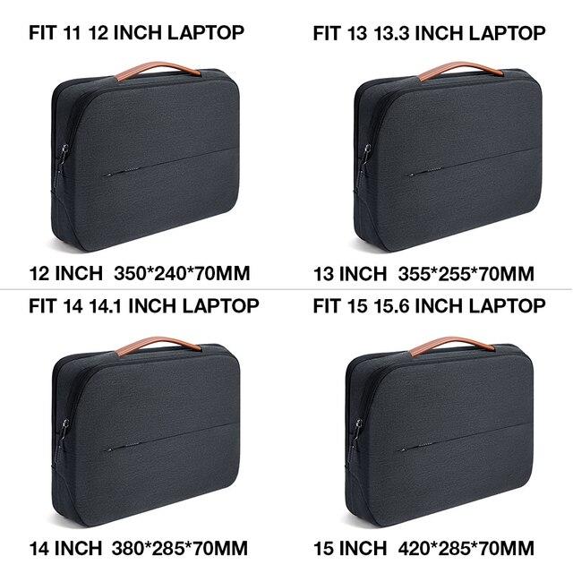 KALIDI Laptop Bag 11 12 13.3 14 15.6 Inch Waterproof Notebook Bag 15 15.6 Inch For Macbook Air Pro 13 15 Laptop Sleeve Women Men 5