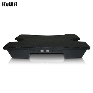 Image 4 - Laptop Cooler Cooling Pad Cooling X Stand for Laptops Notebook PC 14 Inch And Below With 2 USB 2.0 Port Silent Single Fan