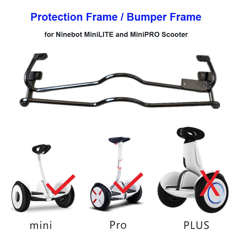 все цены на Xiaomi MiniLITE Scooter Protective Frame Protection Bracket Protective Kit Bumper Bar for Xiaomi MiniPRO Balance Scooter онлайн
